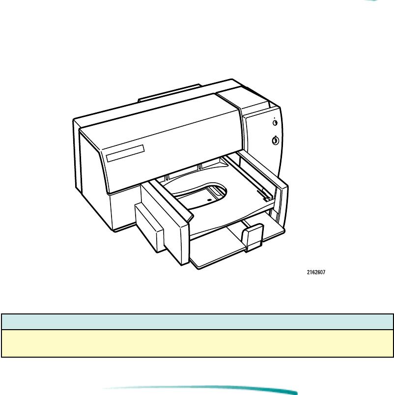 Model Number And Description Hp Deskjet 600 Printer