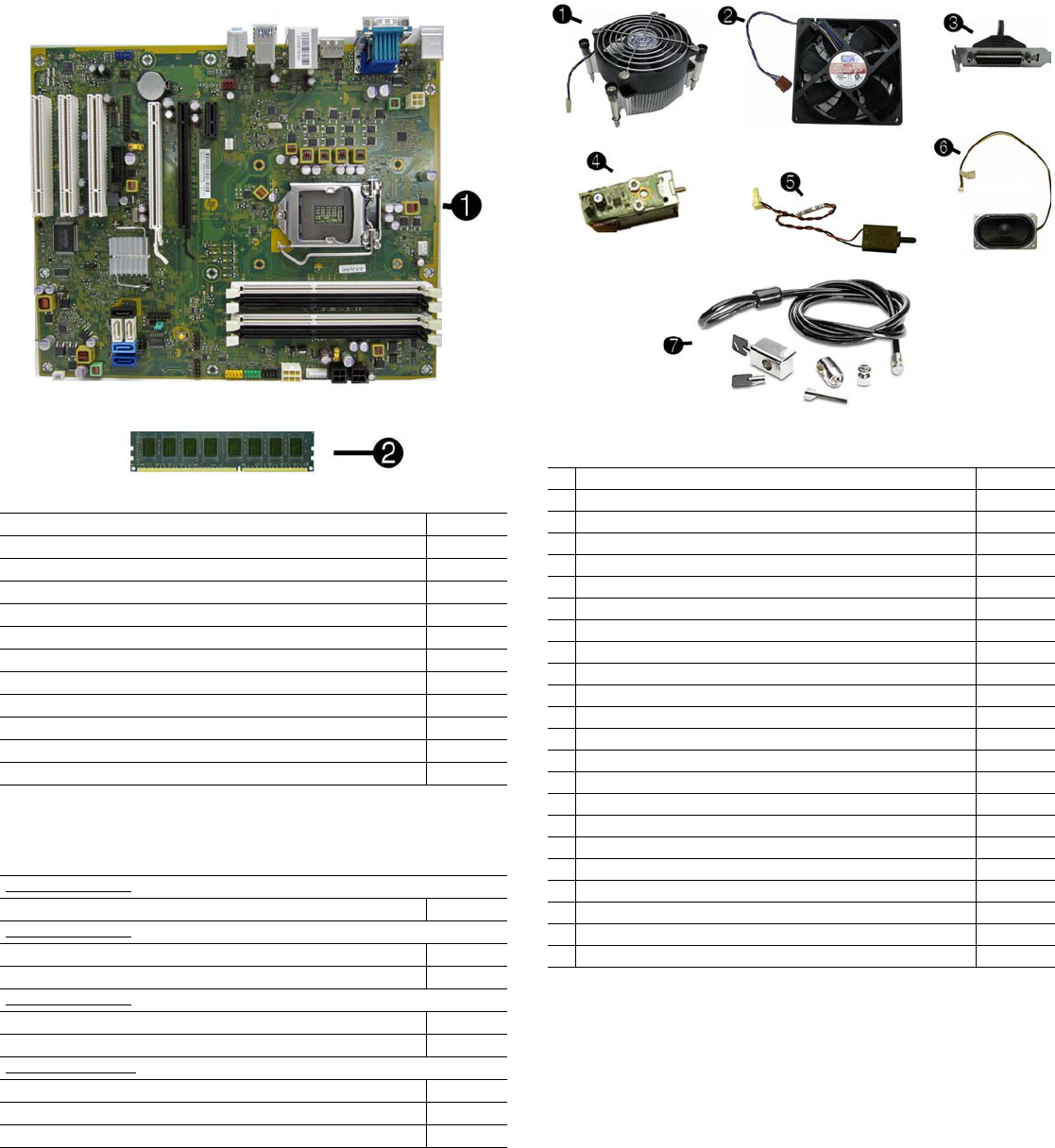 Hp Compaq 8300 Elite Cmt Chassis 690357 001 Illustrated Parts Wiring Diagram Omc 583653 Page 2