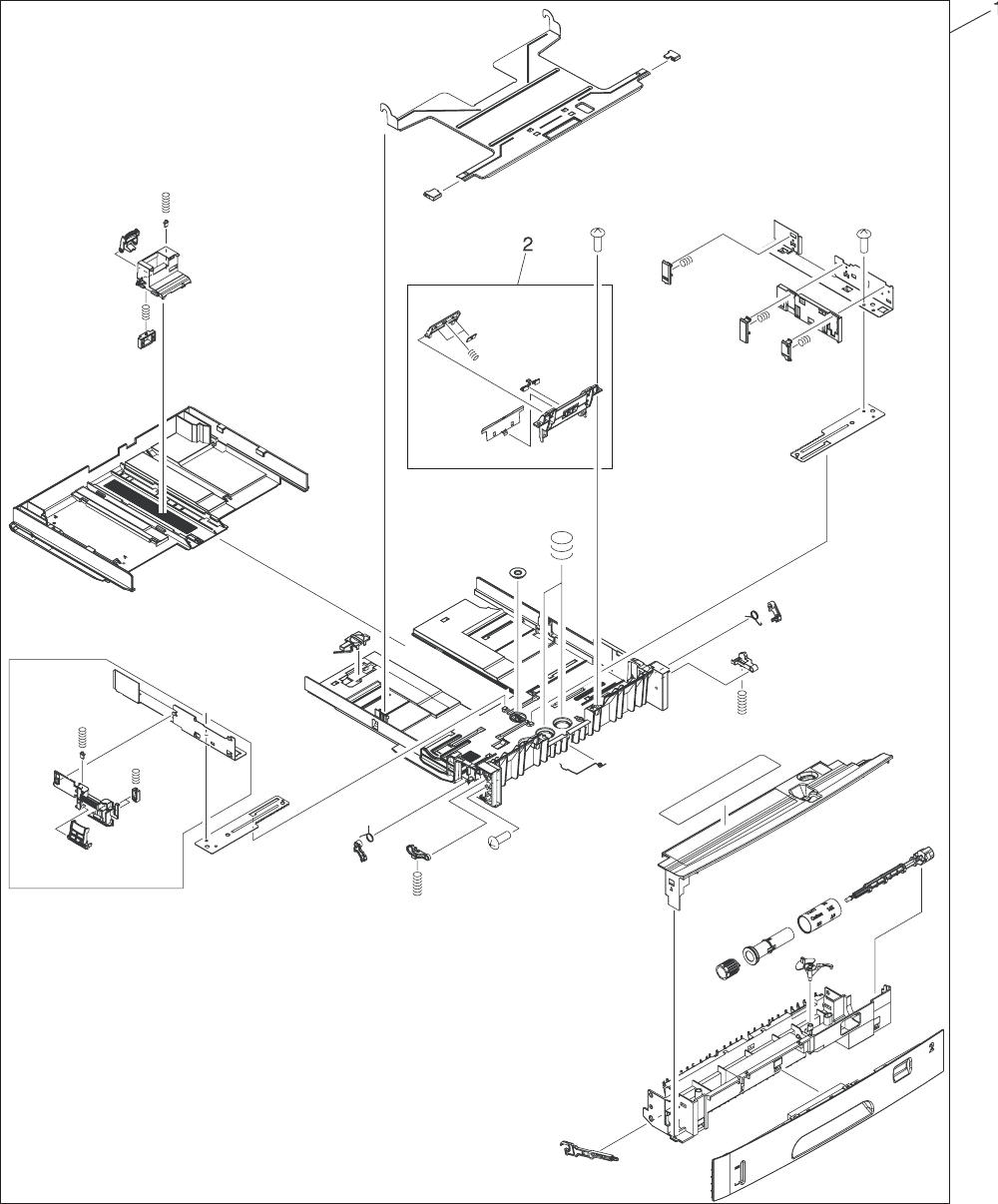 Rm1 2896 000cn Hp New 500 Sheet Feeder Paper Pick Up Assembly Schematic Maker Jam And Jelly Diagram Image In Cassette Tray 2