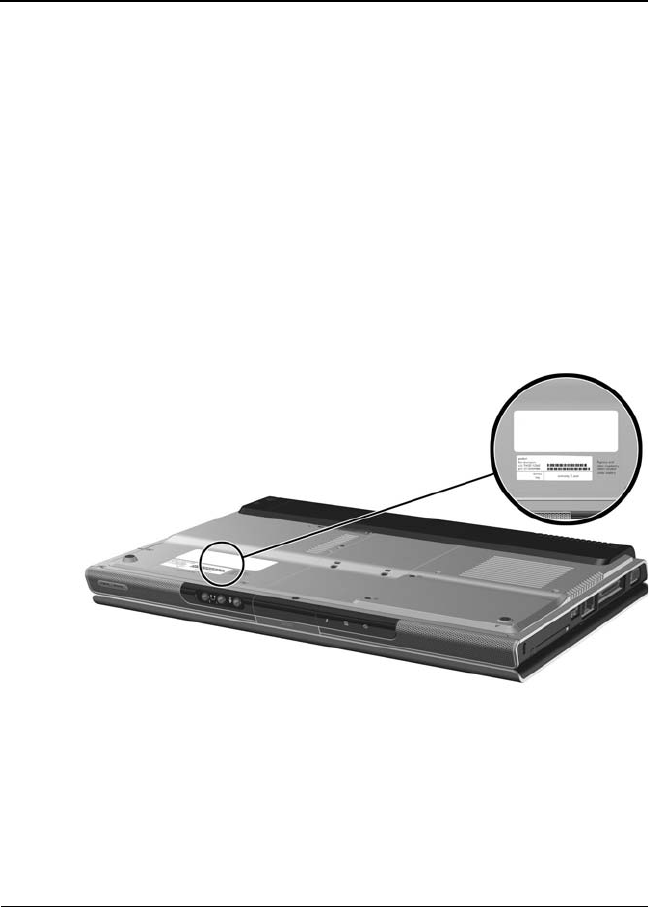 maintenance and service guide hp pavilion dv1000 notebook pc rh dectrader com HP DV1000 Memory HP DV1000 Recovery