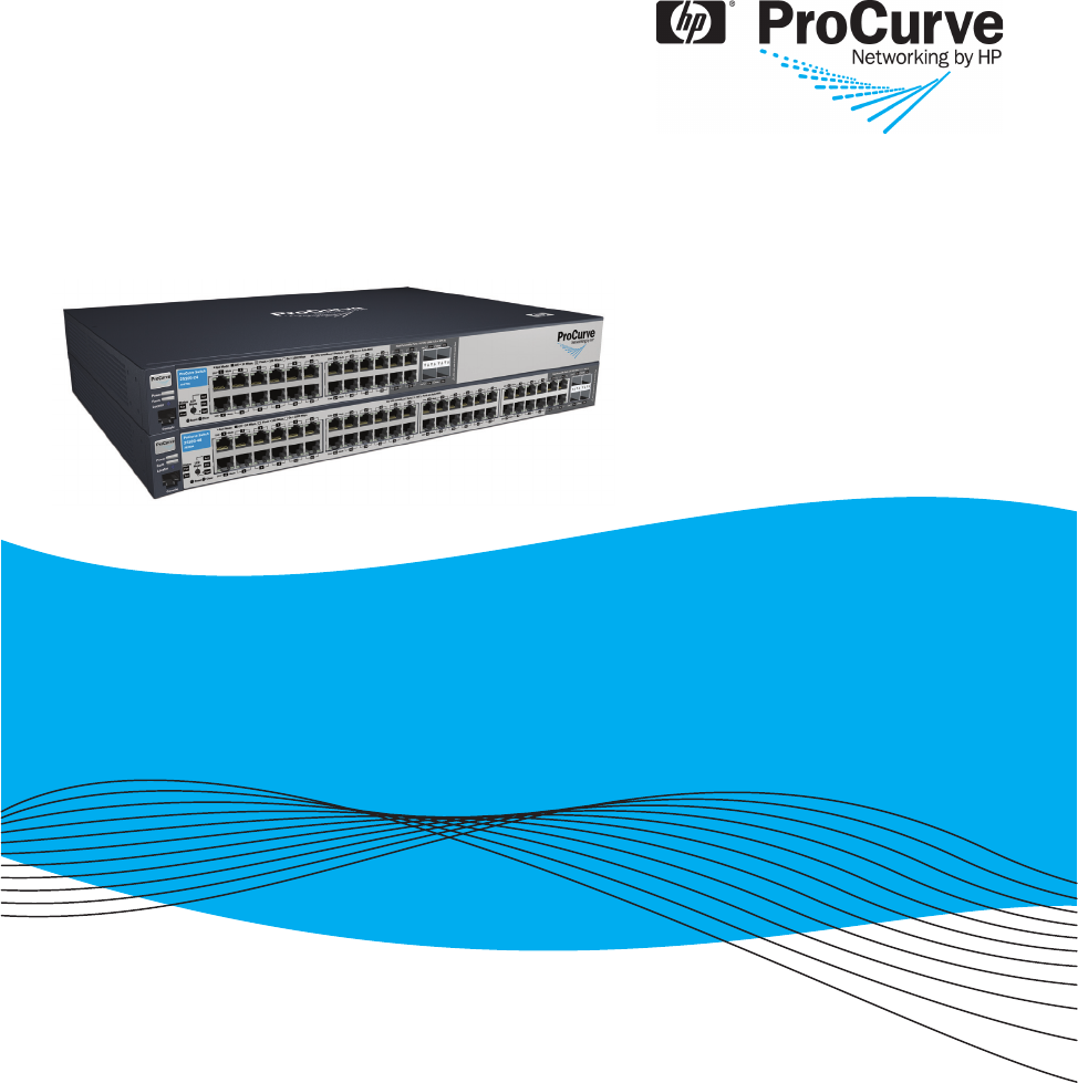 Installation and Getting Started Guide ProCurve Switch 2510G