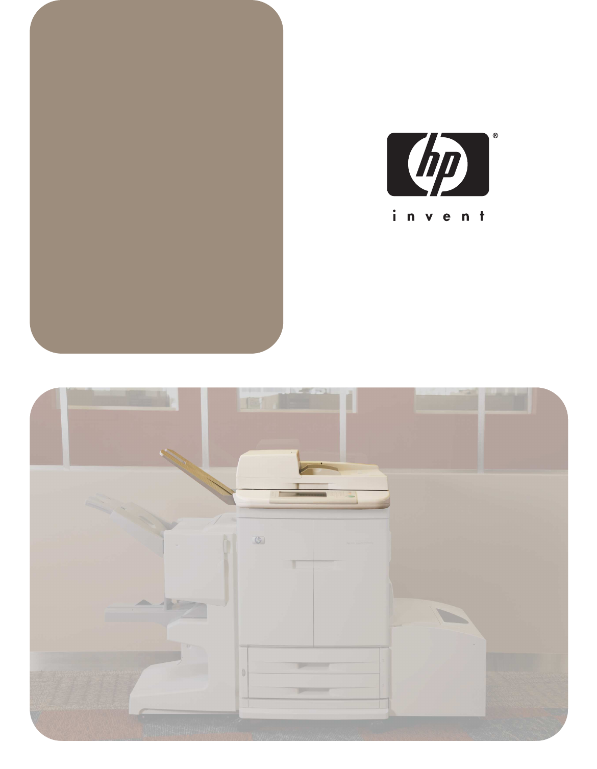 Scanner/ADF service manual for the HP LaserJet  9000mfp/9000Lmfp/9040mfp/9050mfp and 9500mfp