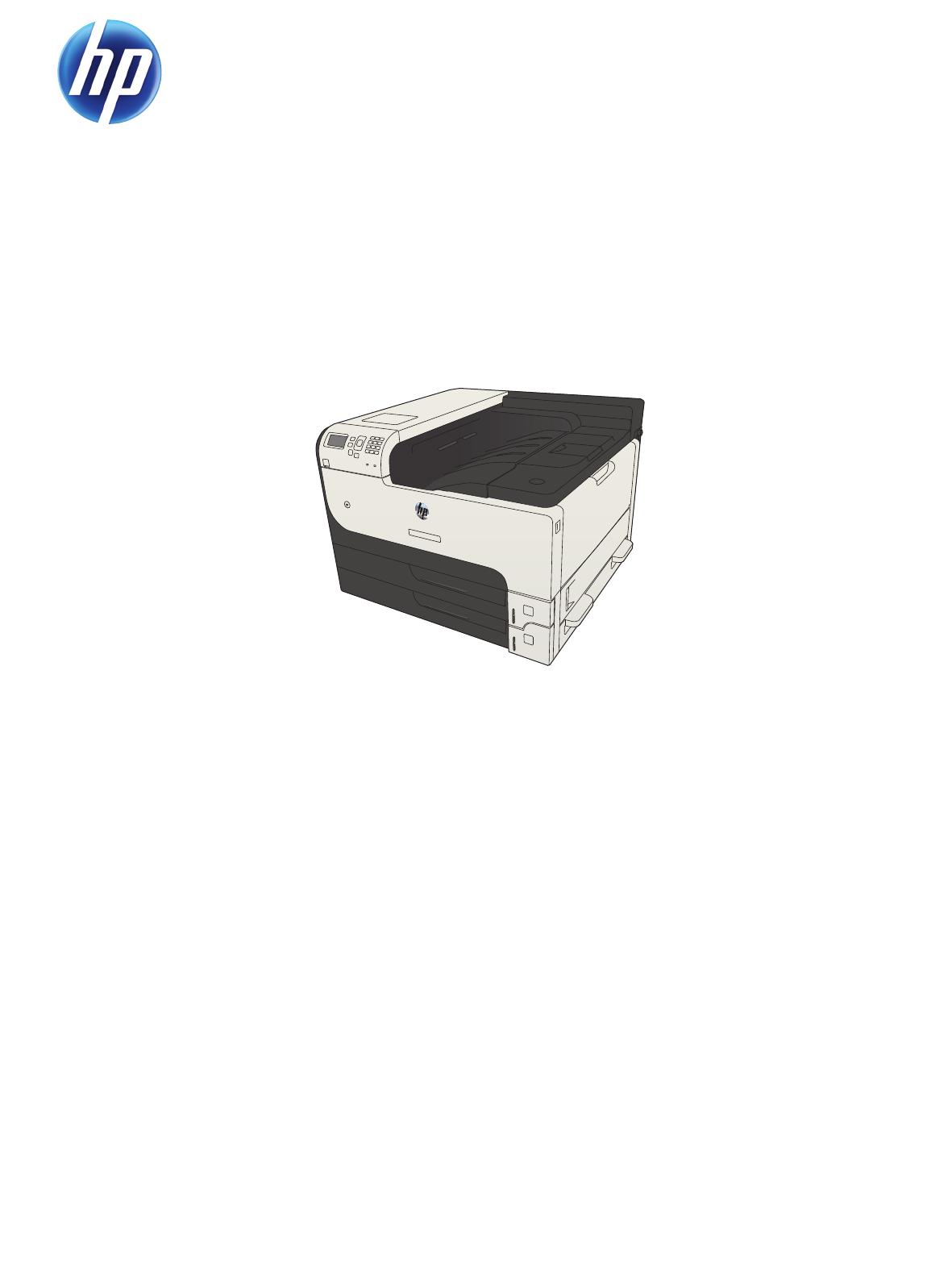 HP COLOR LASERJET ENTERPRISE CP5520 PRINTER SERIES Service Manual · Ask a  question about this product. LASERJET ENTERPRISE 700