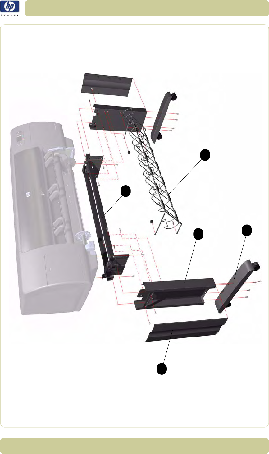 q1273 60096 hp new left side trim assembly attaches to the left rh dectrader com hp designjet 4000 service manual hp designjet 4000ps service manual