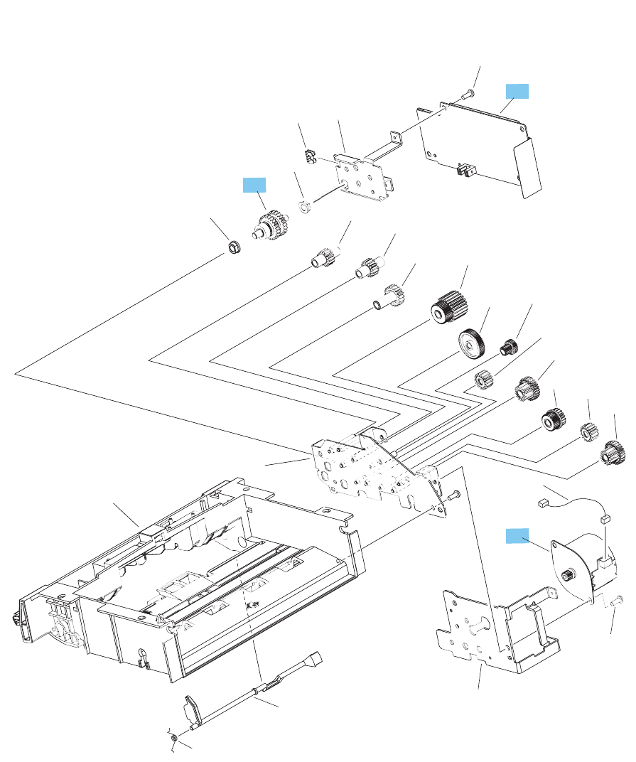 rk2 6768 000cn hp new flat flexible cable Aircraft Wiring Diagram envelope feeder internal ponents 2 of 2