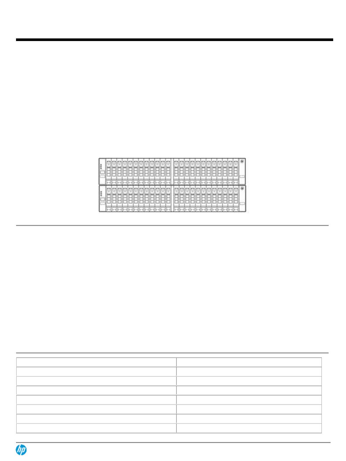 QuickSpecs HP 3PAR StoreServ 7450 Storage