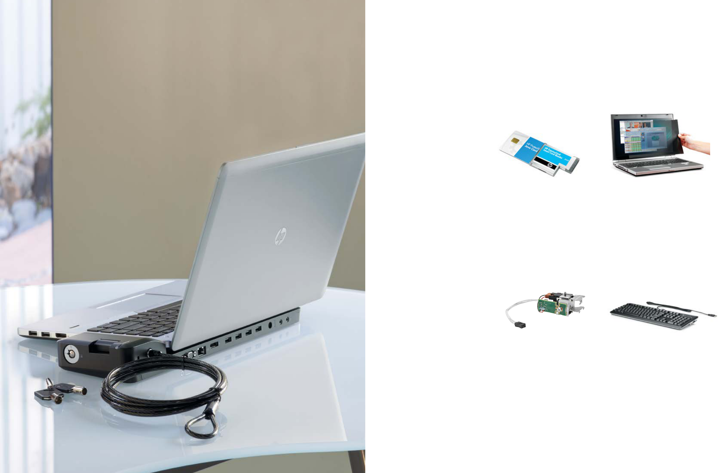 HP Business Accessories, Displays and Services