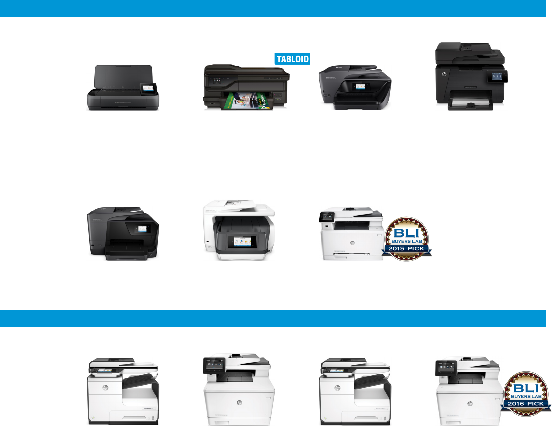 Selection guide Choose the right HP device for your business