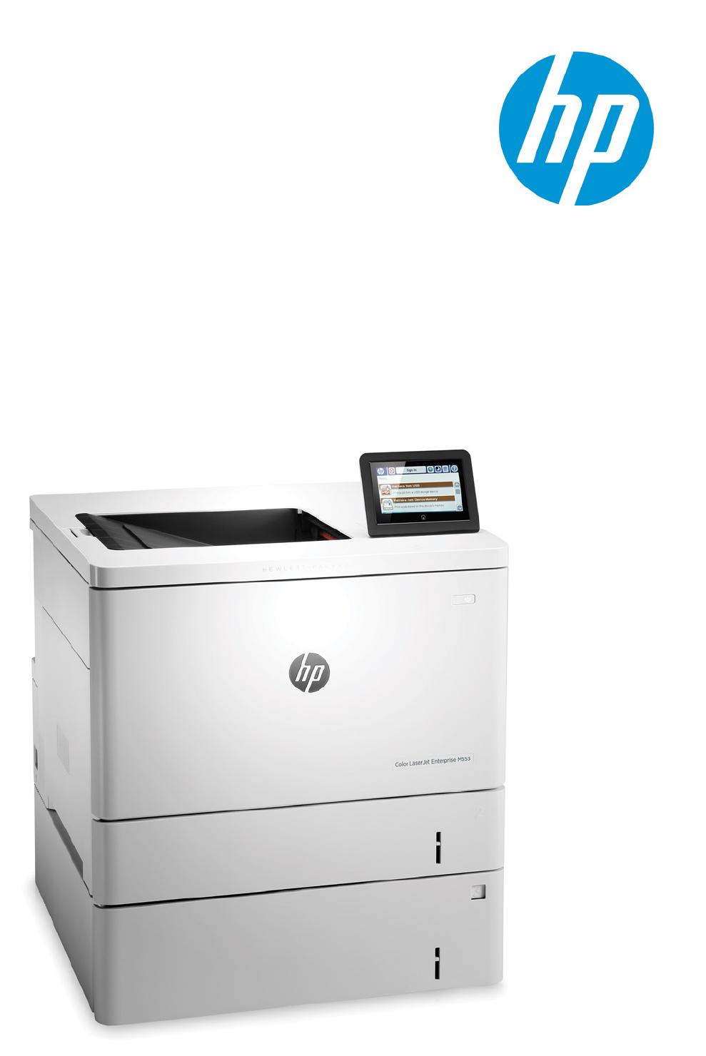 Product guide HP Color LaserJet Enterprise M552/M553 series