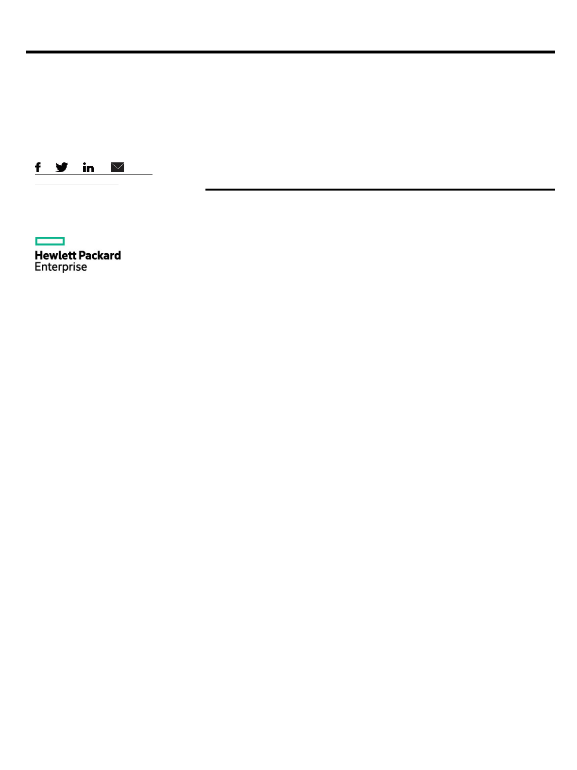 QuickSpecs HPE Integrated Lights - Out (iLO)