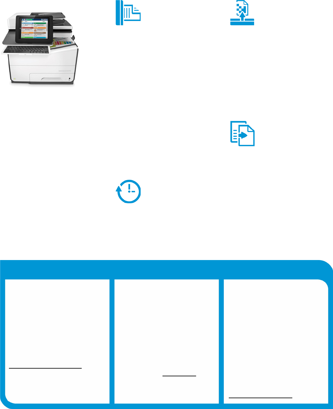 Product guide HP PageWide Enterprise Color MFP 586 series HP