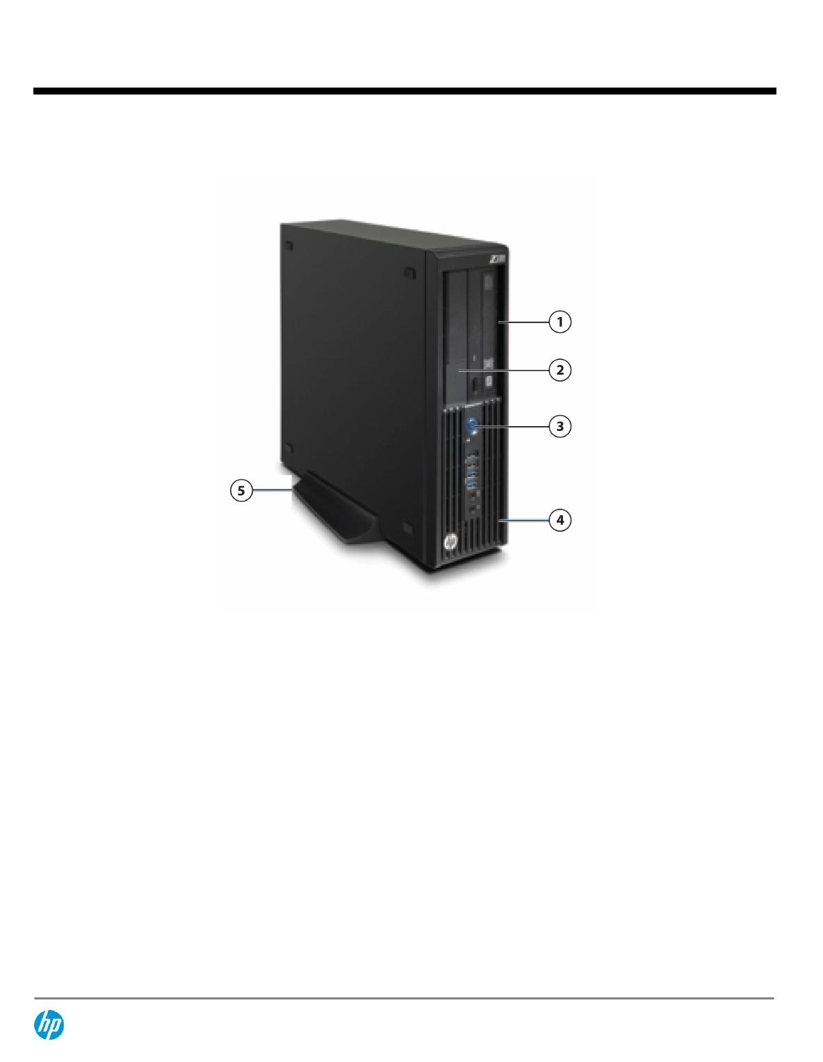 QuickSpecs HP Z230 SFF Workstation