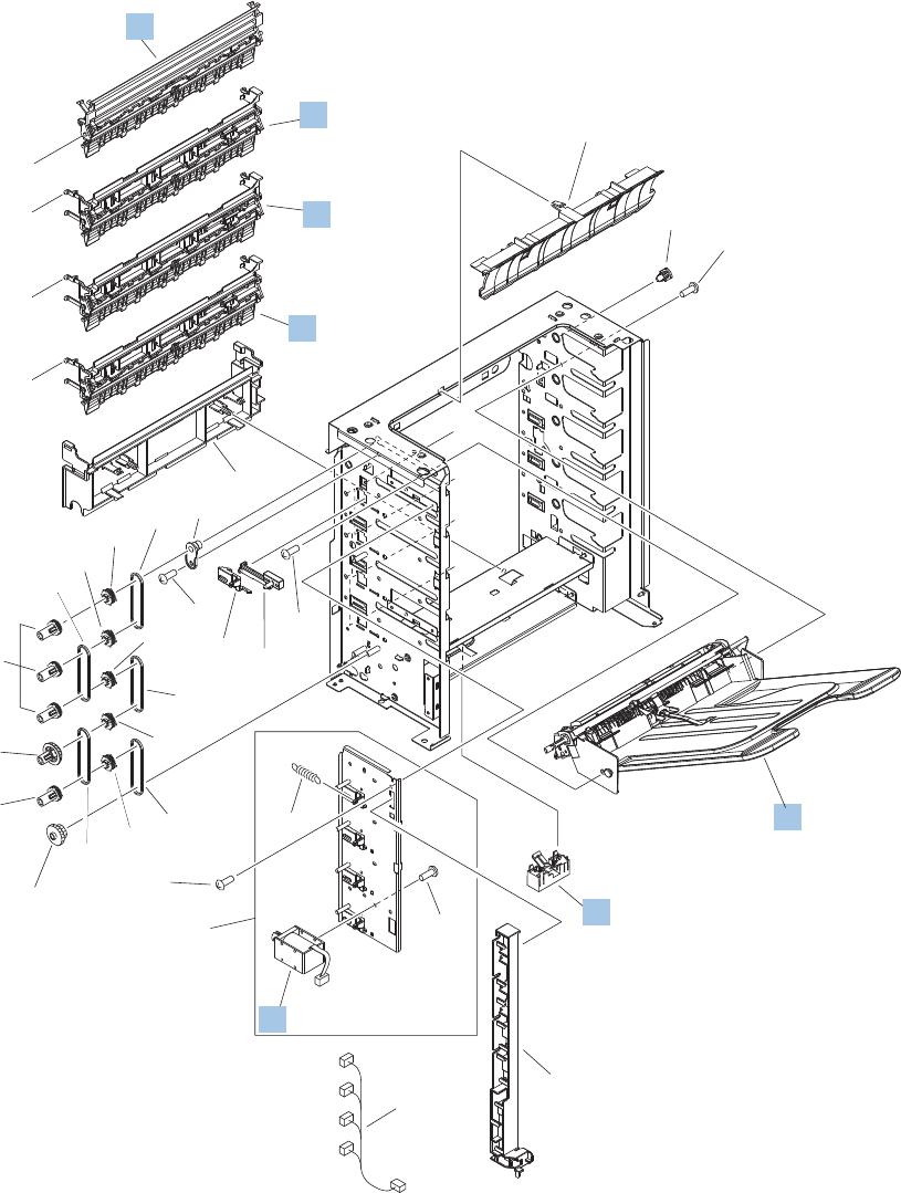 hp multi bin mailbox solenoid sl1302 sl1303 sl1304 sl1305 Ethernet Wall Jack Wiring Diagram main body mbm