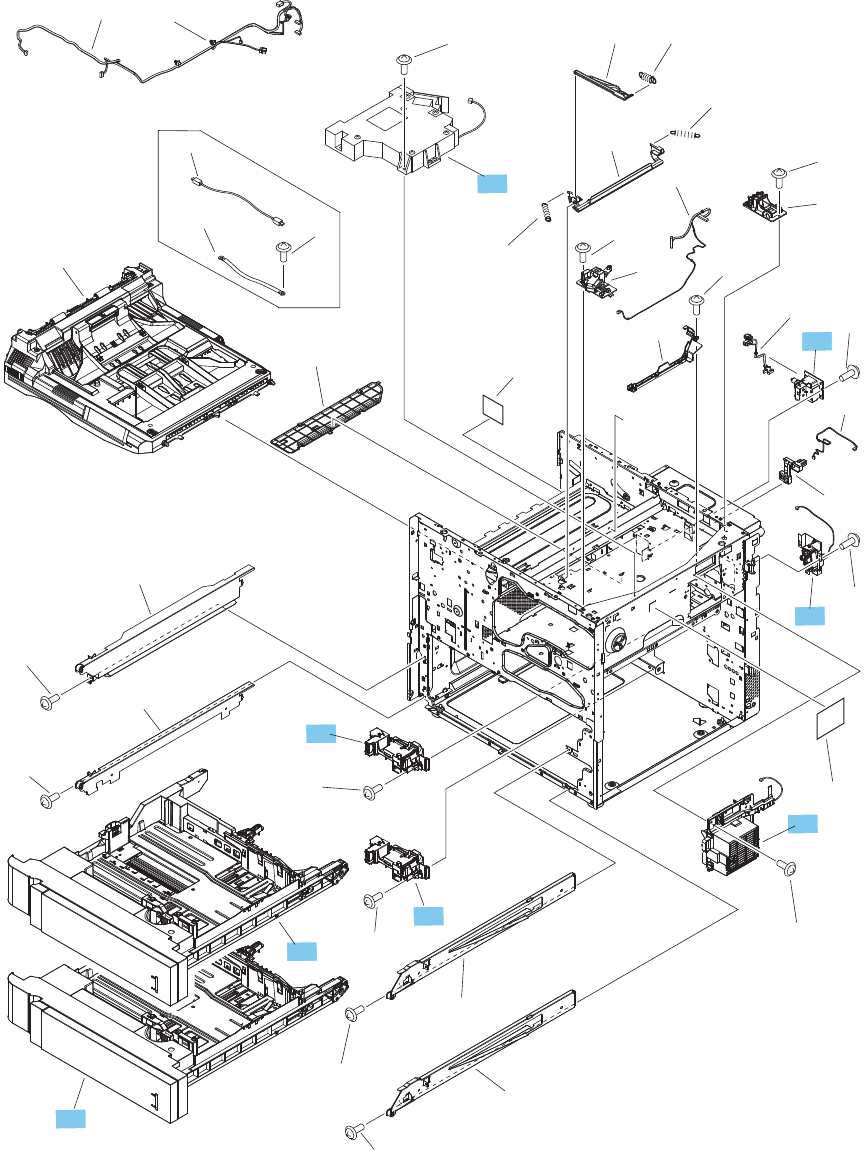 Rm1 9742 000cn Hp New Laserjet M806 M830 Registration Assembly Electric Schematic Maker Jam And Jelly Diagram Image Internal Assemblies 3 Of 4