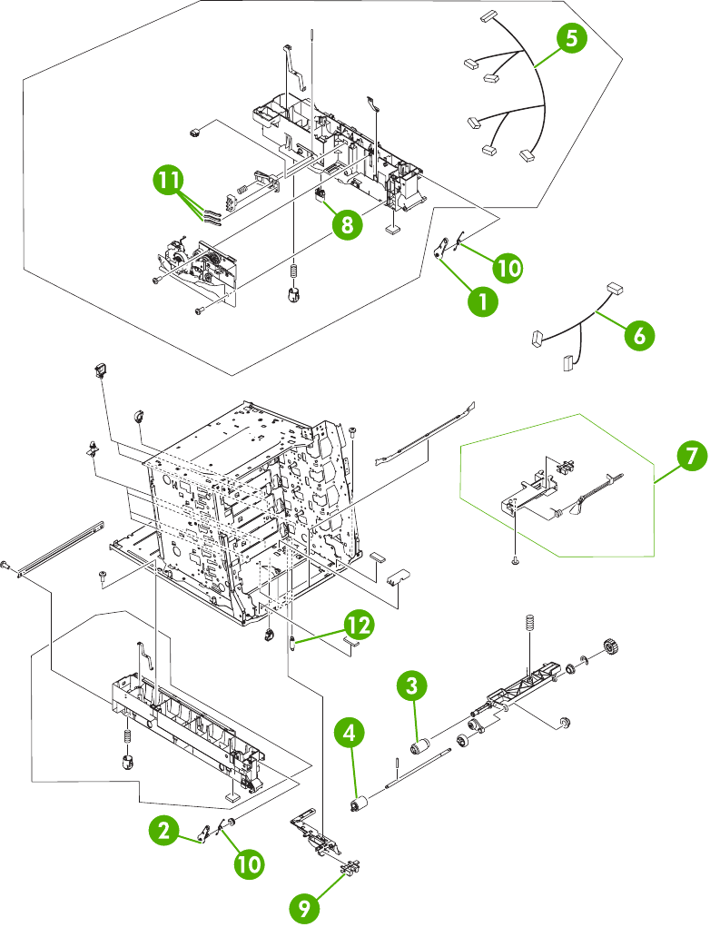Figure 8-8 Internal components (5 of 6)