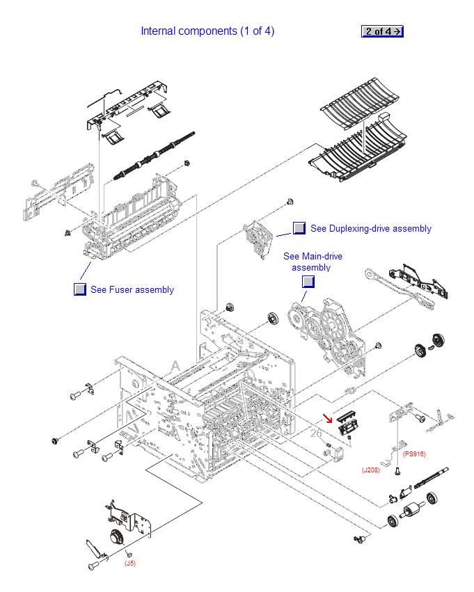 hp spare parts    printers and multifunction