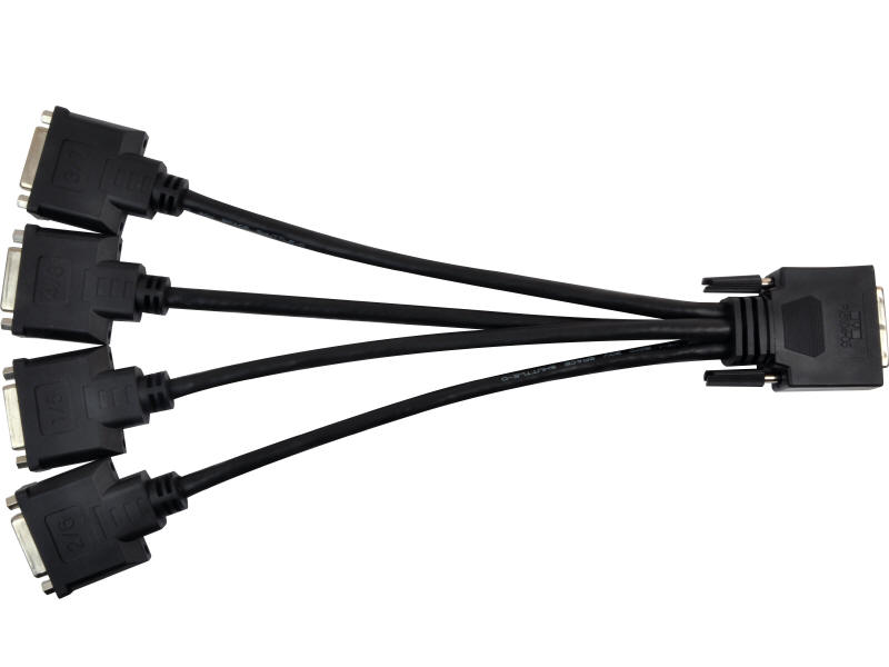 Cable KX20 TO DVI QUAD-MONITOR ADAPTER CABLE
