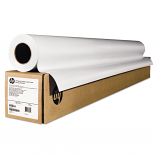 Wide-Format Matte Canvas Paper Roll, 42 inch X 50 Ft, 16 Mil, White