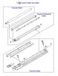 Transfer roller assembly - Includes both transfer guides and transfer roller