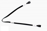 SATA hard drive data cable - Has two straight end connectors, length is 483mm (19-in) long
