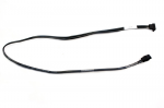 SATA optical drive data cable - Has 1 straight end, 1 angled end, 25-in (365mm) length