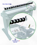 Paper drive transmission gear kit - Includes two gears used to drive the paper drive roller