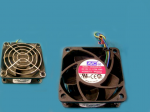 Cooling fan assembly size 60mm x 25mm rated at 12VDC 0.70A (USDT)
