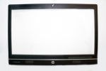 Front bezel assembly - From model with web camera - Includes web camera lens shutter bar capacitive sensor board and cable