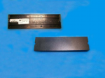 Front bezel plastic blank cover - For 5.25-inch access bay