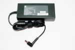External power supply (2.) - Has 150W output at 19.5 VDC output - Has 89% efficiency rating