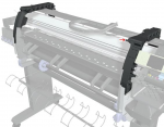 Left-side arc assembly - Brace that is used for the cover assemblies to connect onto