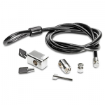 Clamp security lock kit - With cable and keys (plate not included)