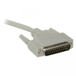50ft DB25 M/F Extension Cable - DB-25 Male - DB-25 Female - 50ft - Beige
