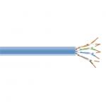 1000-FT. CAT6 250-MHZ SOLID BUL K CABLE UTP CMP BLUE