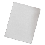 Classic Grain Texture Binding System Covers 11-1/4 X 8-3/4 White 200/pack