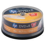 4.7GB 16x DVD+Rs (25-ct Cake Box Spindle)