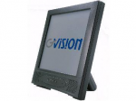 15IN TFT LCD TOUCH MONITOR with ELO 1515L 5-WIRE RESISTIVE TOUCH SCREEN DESKTOP POS SERIAL 250 NITS SPEAKERS 75MM VESA BLACK PHOTOFRAME STAND