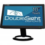 10 inch USB LCD Monitor with Touch Screen TAA - 1024 x 600 - WSVGA - Adjustable Display Angle - 262000 Colors - 500:1 - 200 Nit - USB - Black - 3 Year
