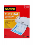 Scotch - 100-pack - clear - 8.98 in x 11.46 in lamination pouches