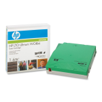 LTO Ultrium WORM 4 - 800 GB / 1.6 TB - unlabeled - for HPE MSL4048, StorageWorks Enterprise Modular Library E-Series, StoreEver Ultrium 1840