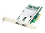 Dell 430-4435 Comparable Dual SFP+ Port PCIe NIC - Network adapter - PCIe x8 - 10 Gigabit SFP+ x 2 - for Dell PowerEdge R620 R720 R820 T620