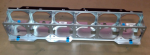 Fan cage assembly - Metal structure that supports a maximum of six fans - Mounts behind the front drive cage assembly