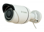 DCS 4703E - Network surveillance camera - outdoor - dustproof / waterproof - color (Day&Night) - 3 MP - 2048 x 1536 - MJPEG H.264 - PoE