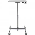 LearnFit SE Sit-Stand Desk - Table - mobile - school - rectangular - medium gray