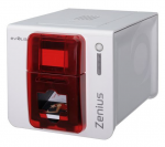 ZENIUS CLASSIC PRINTER, SINGLE SIDED, WITHOUT OPTION, USB, RED TRIM, USB CABLE INCLUDED