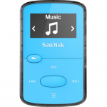 8 GB Flash MP3 Player - Blue - FM Tuner - Battery Built-in - microSD Card - AAC MP3 WMA WAV Ogg Vorbis Audible FLAC - 18 Hour