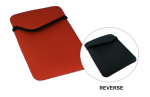 Carrying Case (Sleeve) for iPad Tablet - Red Black - Scratch Resistant Interior - Nylon