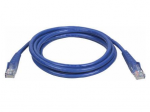 14ft Cat5e / Cat5 Snagless Molded Patch Cable RJ45 M/M Blue 14 feet - Patch cable - RJ-45 (M) to RJ-45 (M) - 14 ft - UTP - CAT 5e - booted snagless - blue