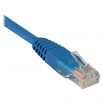 10ft Cat5e / Cat5 350MHz Molded Patch Cable RJ45 M/M Blue 10 feet - Patch cable - RJ-45 (M) to RJ-45 (M) - 10 ft - UTP - CAT 5e - molded stranded - blue