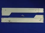 Rack mount kit for 19-inch racks - Universal - Snap-in